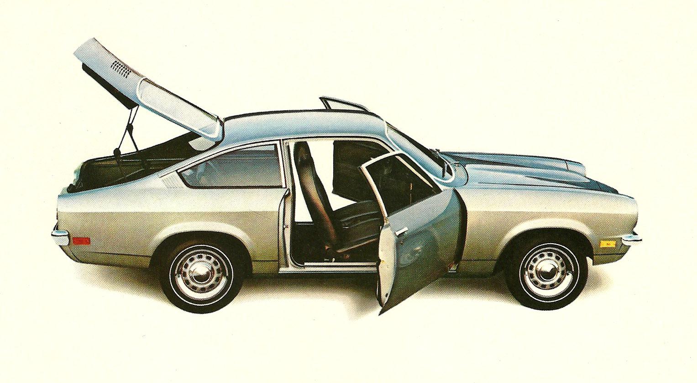 1970 Chevrolet Vega.