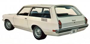 1971 Chevrolet Vega Kammback.