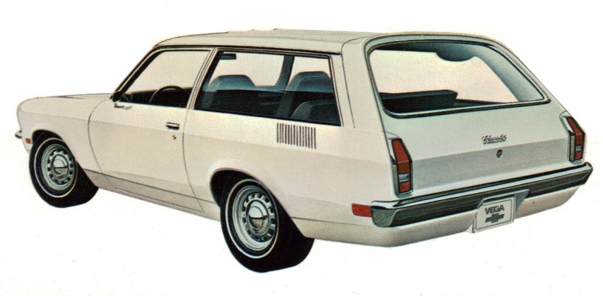 1971 Chevrolet Vega Kammback.
