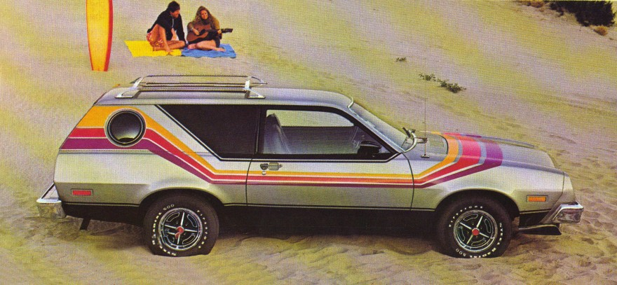1977 Ford Pinto Crusing Wagon.