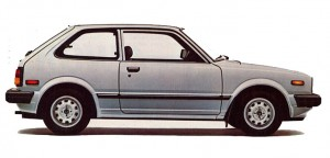 1982 Honda Civic GL Hatchback.