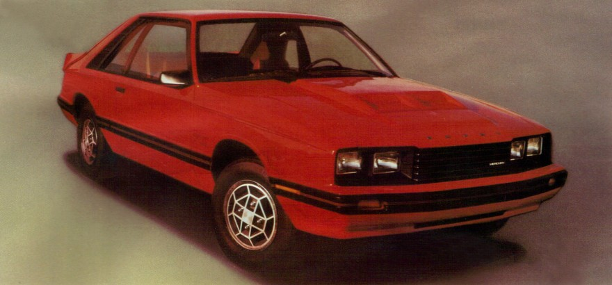1981 Mercury Capri RS.