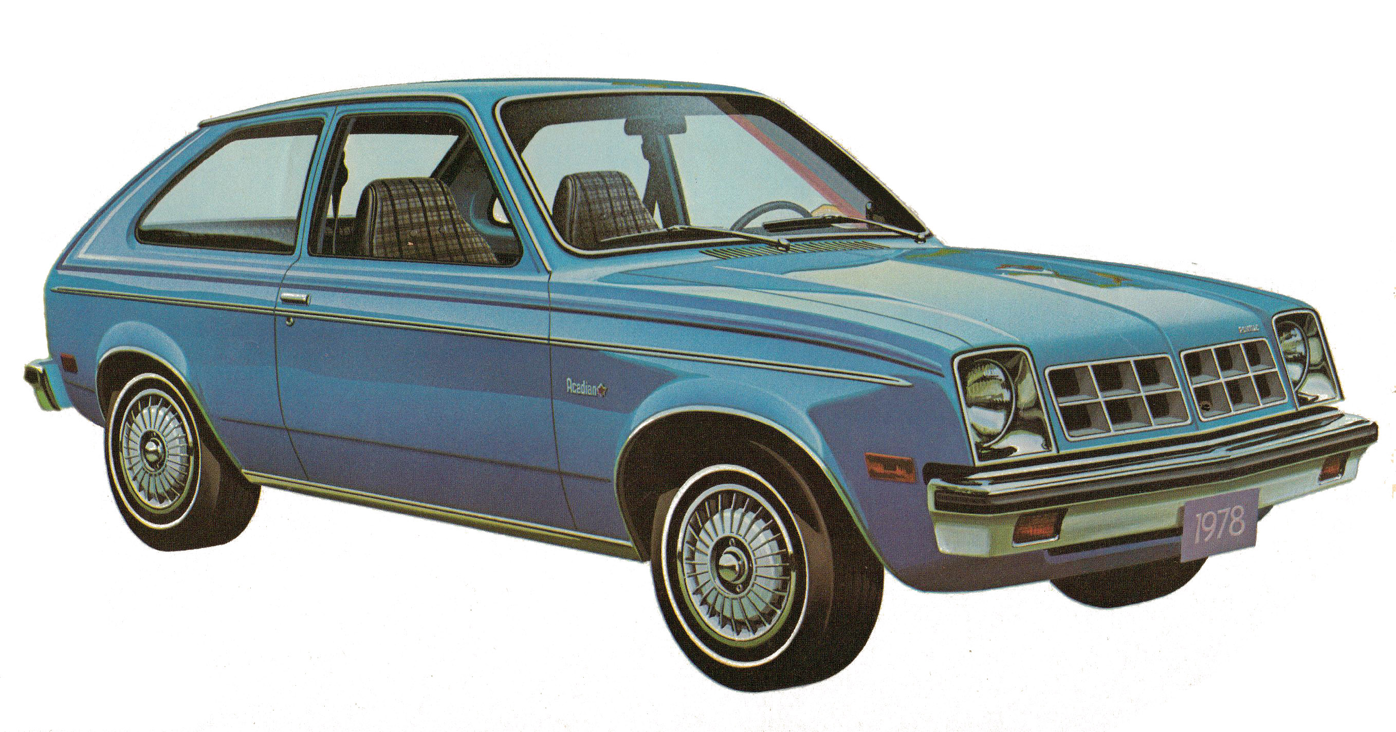 From 1976 to 1987, the Pontiac