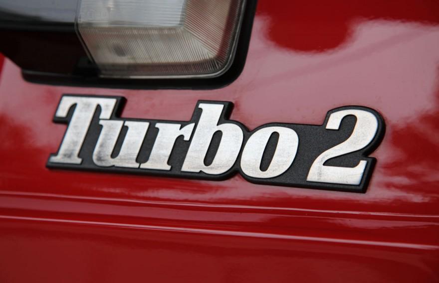 1985 Renault 5 Turbo2 emblem.