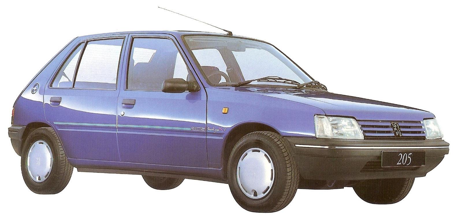 1995 Peugeot 205 Mardi Gras