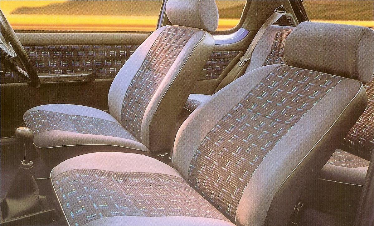 1995 Peugeot 205 Mardi Gras interior