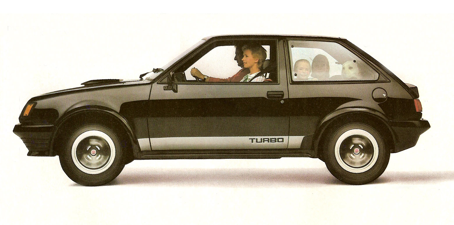 1983 Mitsubishi Colt Mirage Turbo