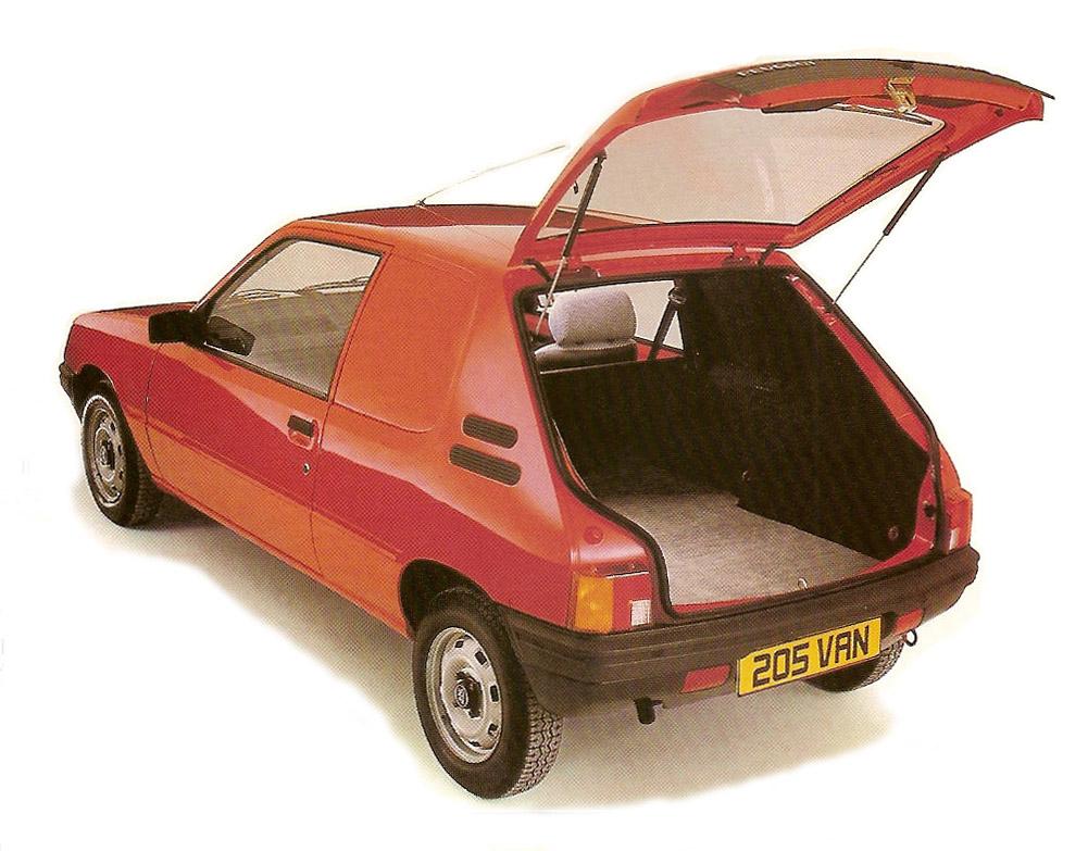1985 Peugeot 205 Van hatchback