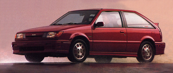 1989 Isuzu I-Mark RS