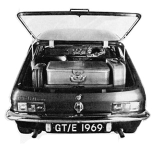 1969 Reliant Scimitar GT/E