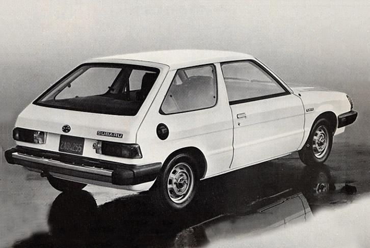 Hatch Heaven 187 1984 Subaru Hatchback