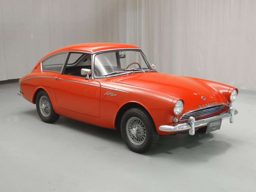 1962 Sunbeam Alpine Harrington LeMans coupe