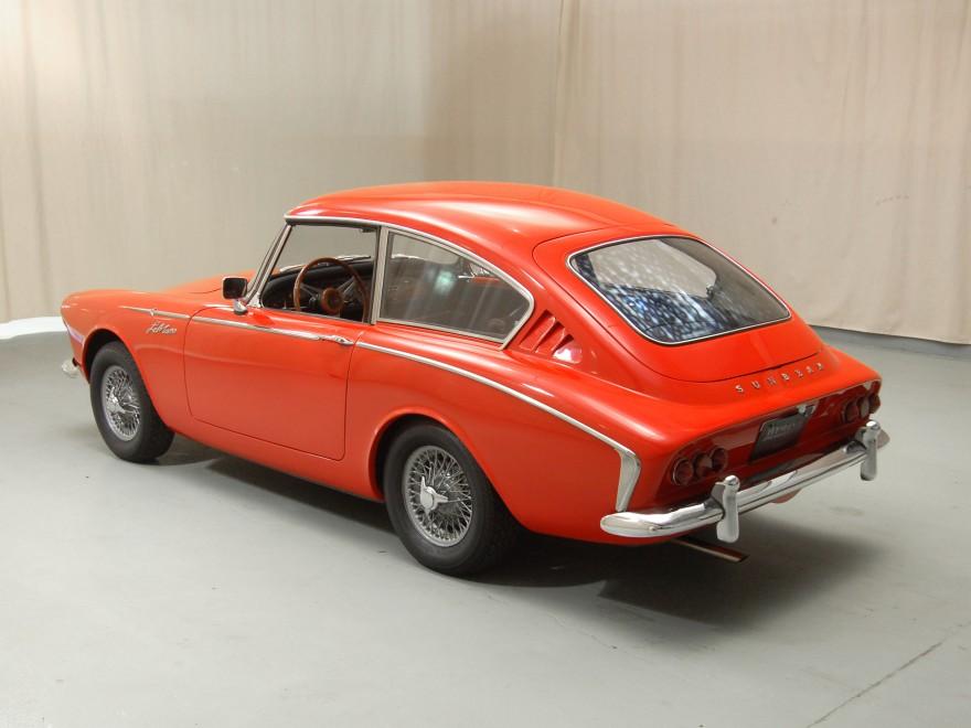1962 Sunbeam Alpine Harrington LeMans coupe