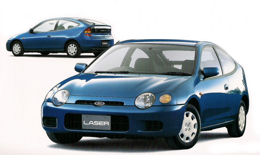 1996 Ford Laser Hatchback