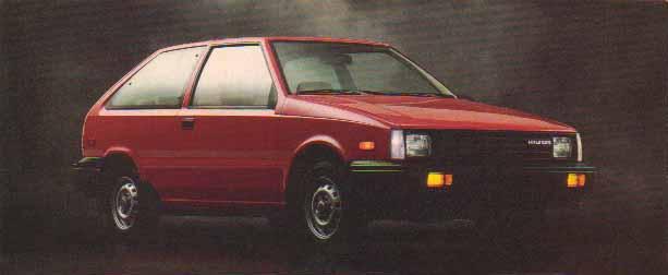 1984 Hyundai Excel