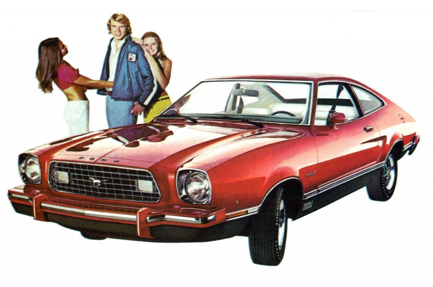 1975 Ford Mustang II Mach 1 hatchback