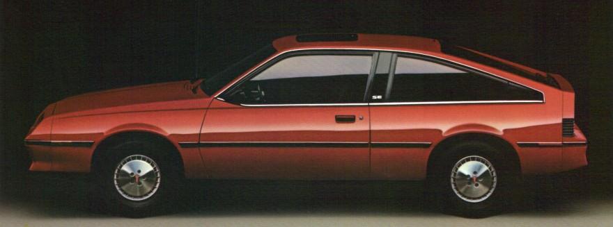 1982 Pontiac J2000 Hatchback