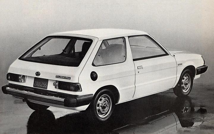 1984 Subaru Hatchback