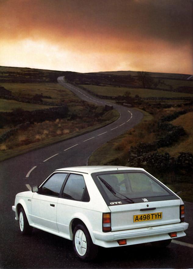 1983 Vauxhall Mk1 Astra GTE