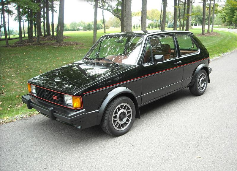1984 Volkswagen GTI Mk 1