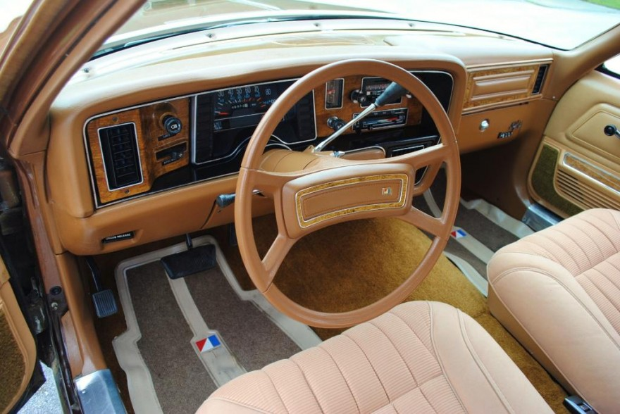 1979 AMC Pacer DL interior
