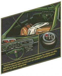 1978 Datsun 510 details
