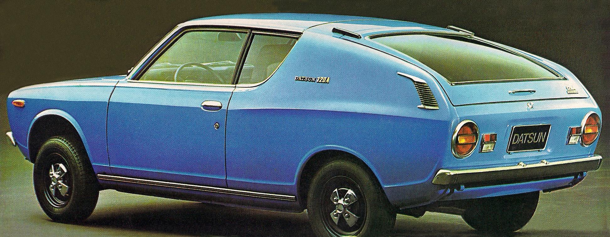Hatch Heaven » 1973 Datsun Cherry 120A Coupe