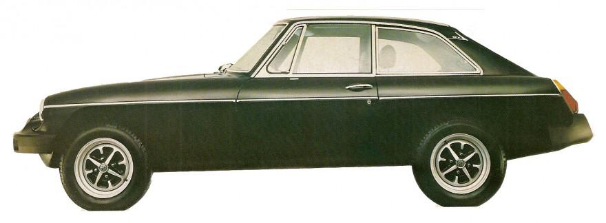 1978 MGB GT Sports