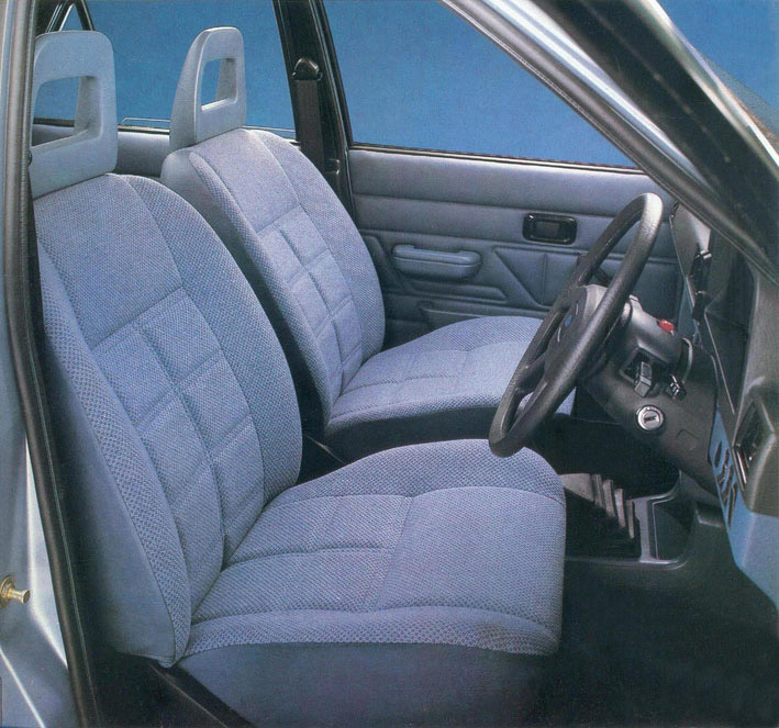 1980 Ford Escort MK3 interior
