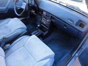 Hatch Heaven 187 1988 Dodge Omni Interior