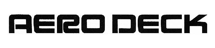1986 Honda_Aerodeck logo