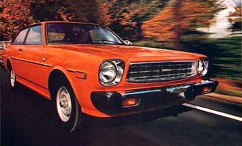 1978 Toyota Corolla SR-5 Liftback