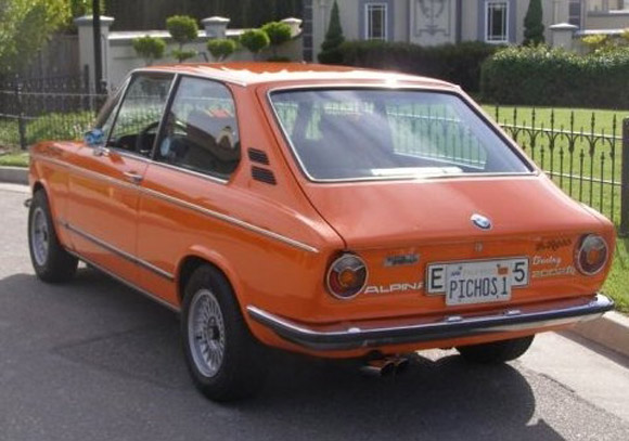1974 BMW 2002 Touring ALPINA A4 Tribute