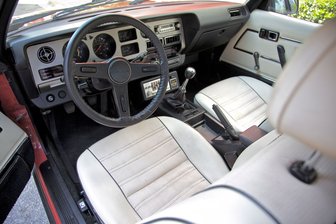 Hatch heaven red 1980 toyota celica usgp interior for Interieur 83