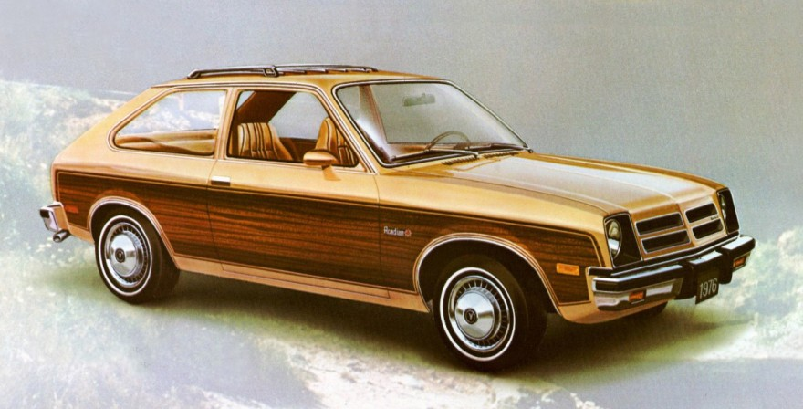 1976 Acadian Woody Wagon