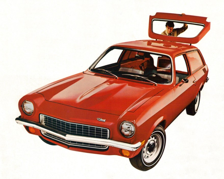 1972 Chevrolet Vega Panel