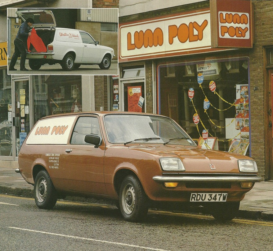1980 Vauxhall Bedford Chevette