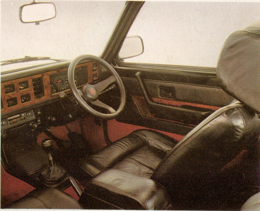 1979 Vauxhall Chevette Black Magic interior