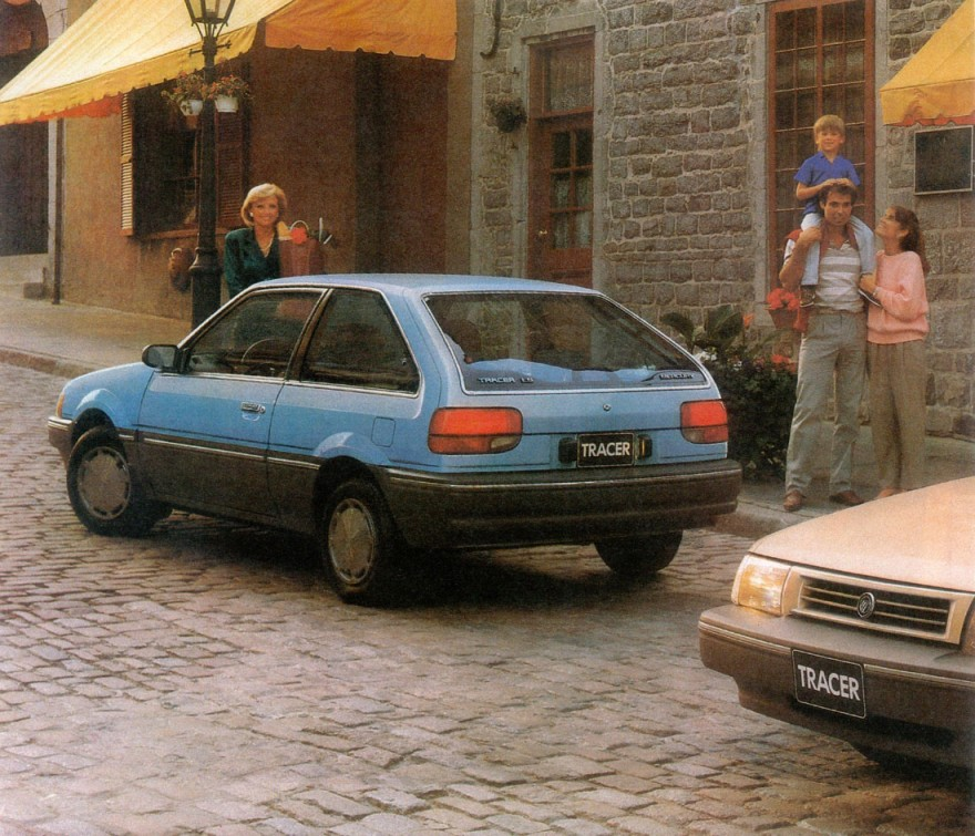 1988 Mercury Tracer LS2