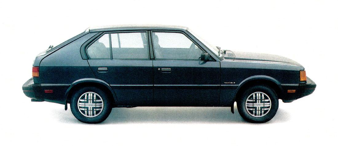 Hatch Heaven   Hyundai Pony : 1984