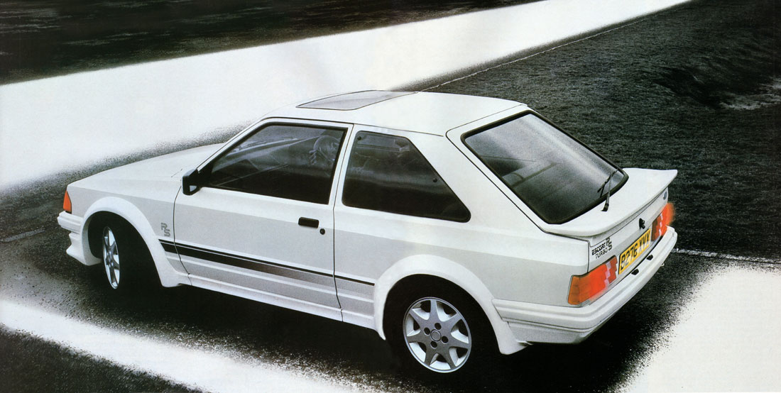 Hatch Heaven » Ford Escort RS Turbo S1 : 1985