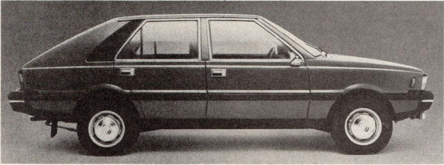1980 FSO Polonez
