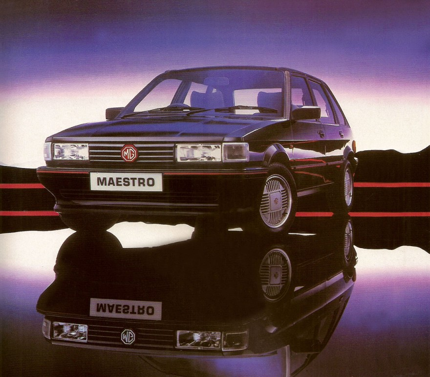 1986 MG Maestro