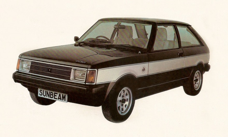 1980 Talbot Sunbeam Lotus