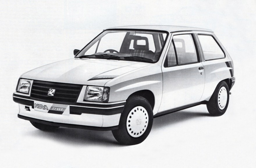1985 Vauxhall Nova Sport
