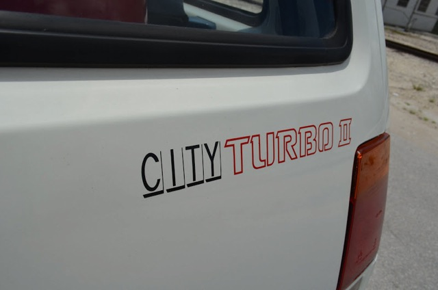 1986 Honda City Turbo II decal