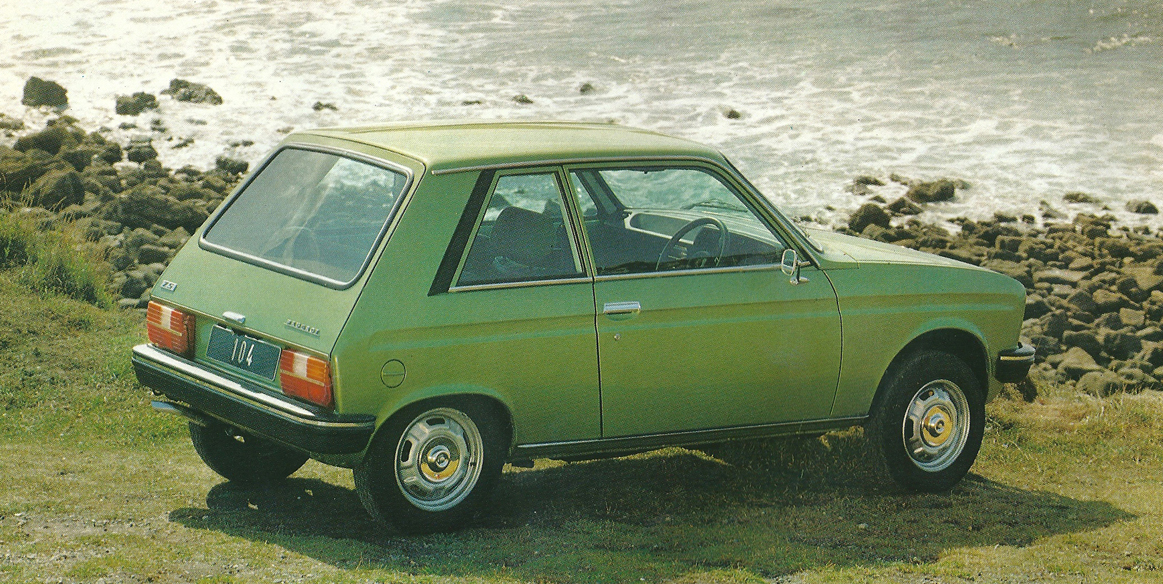hatch heaven » peugeot 104 zs : 1979