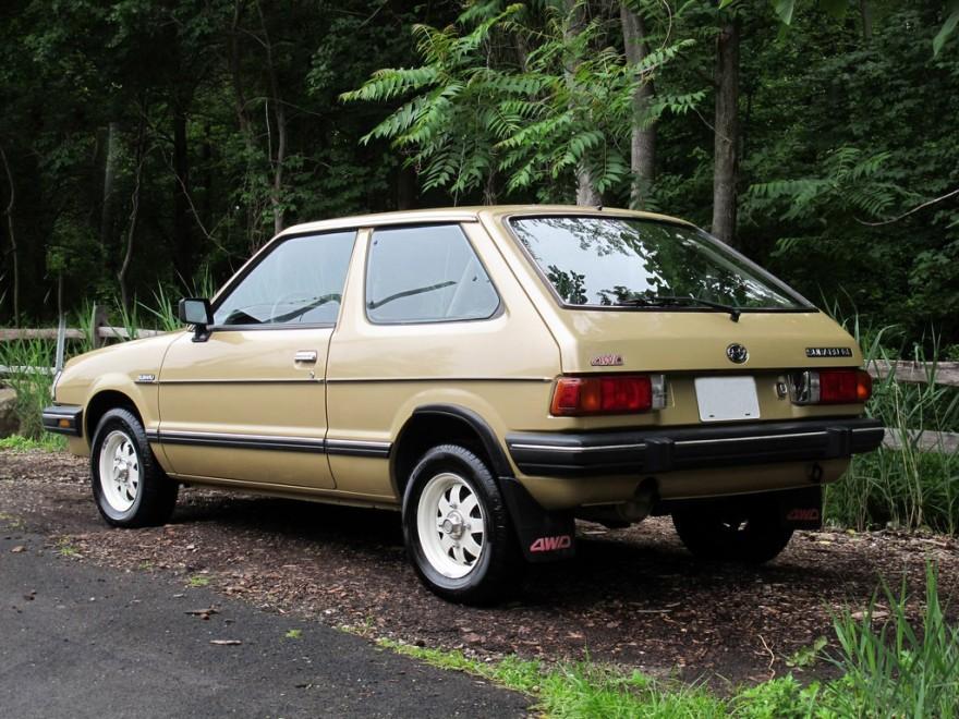 Hatch Heaven 187 Subaru Gl 1984