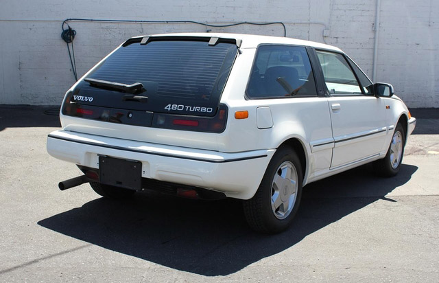 Hatch Heaven 187 Volvo 480 Turbo 1989