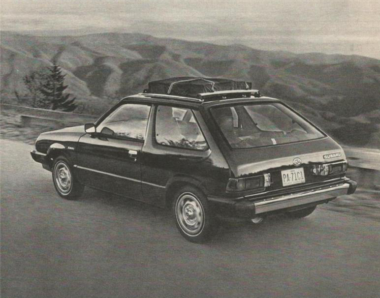 1980 Subaru Hatchback